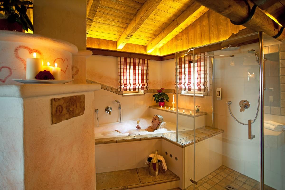 Almhütte Diana Komfort Badezimmer